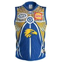 West Coast Eagles 2019 Mens Indigenous Guernsey